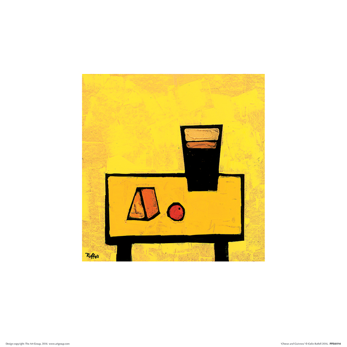 Colin Ruffell (Cheese and Guinness) Art Print