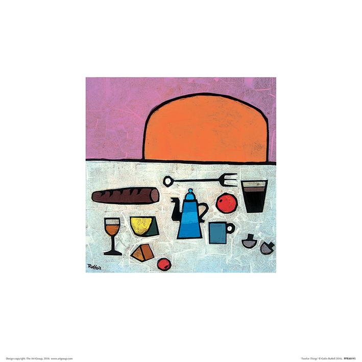 Colin Ruffell (Twelve Things) Art Prints