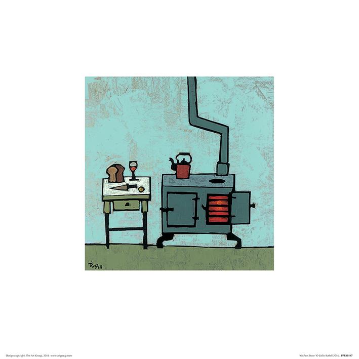 Colin Ruffell (Kitchen Stove) Art Prints