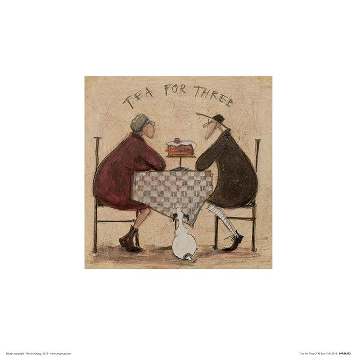 Sam Toft (Tea for Three 2) Art Prints
