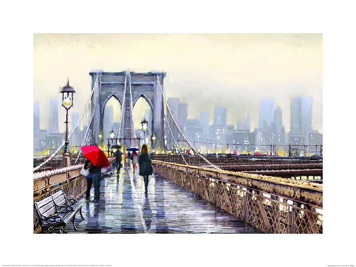 Richard Macneil (Brooklyn Bridge) Art Prints