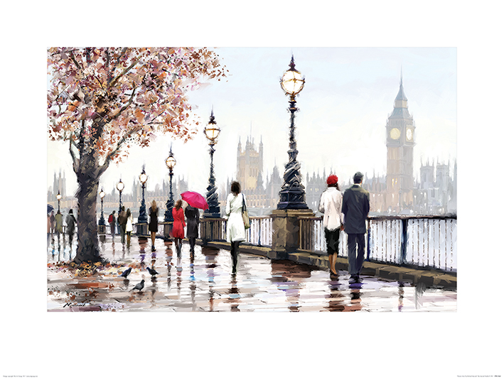 Richard Macneil (Thames View) Art Prints