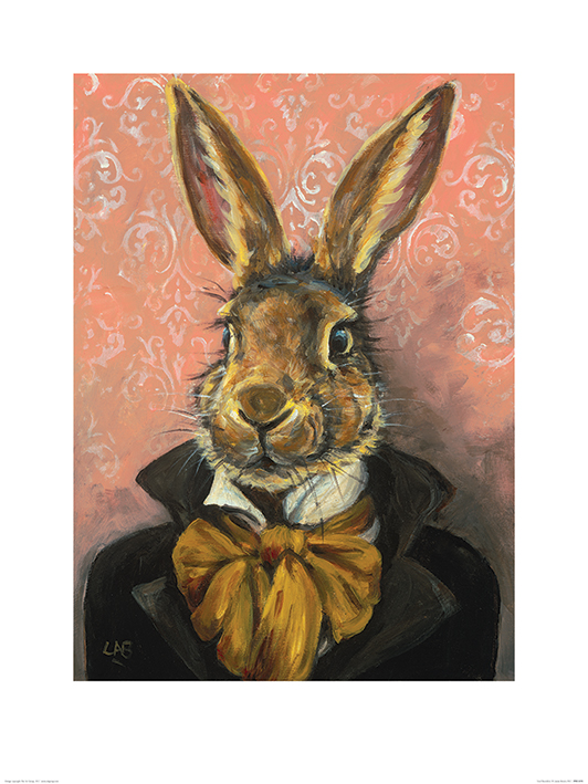 Louise Brown (Lord Bunnikins) Art Print