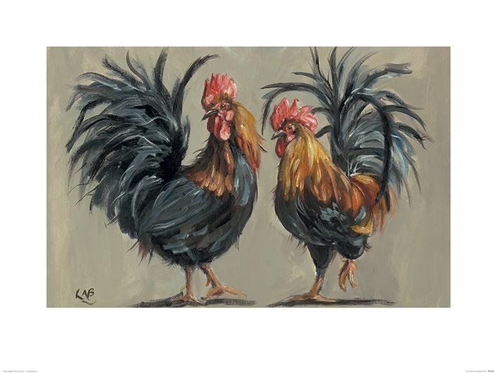 Louise Brown (Cock-a-Hoop) Art Prints