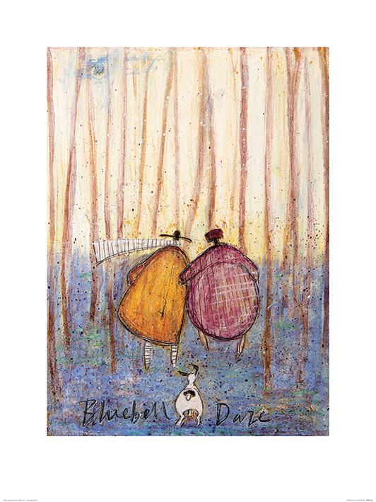 Sam Toft (Bluebell Daze) Art Prints