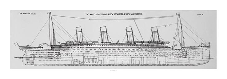 Titanic (Plans B) Art Print