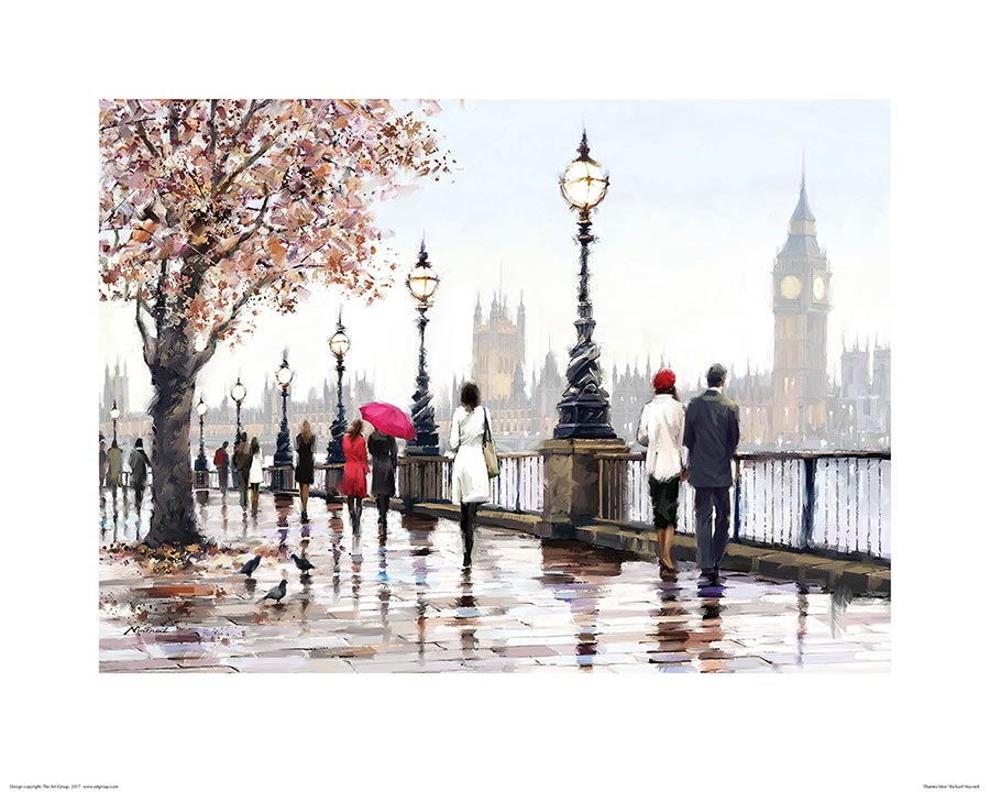 Richard Macneil (Thames View) Art Print