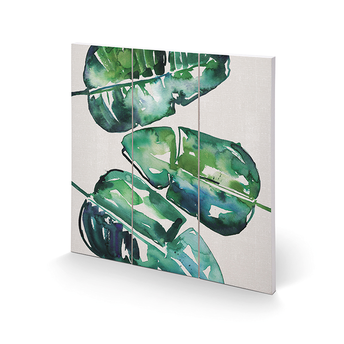 Summer Thornton (Banana Leaves) Wood Prints