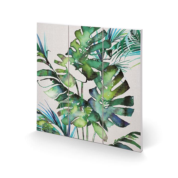 Summer Thornton (Monstera Leaves) Wood Prints