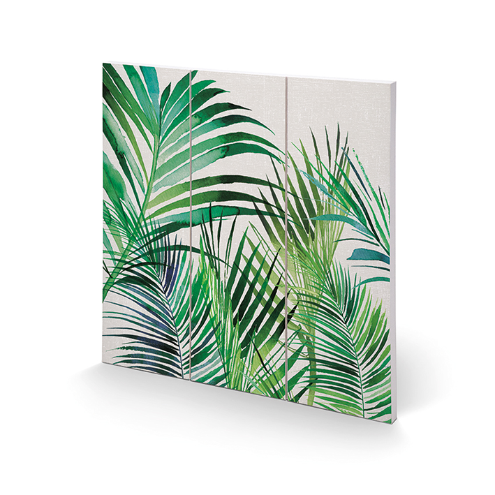 Summer Thornton (Palm Leaves) Wood Prints
