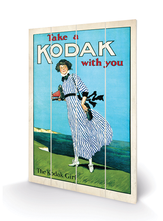 Kodak Girl Wood Prints