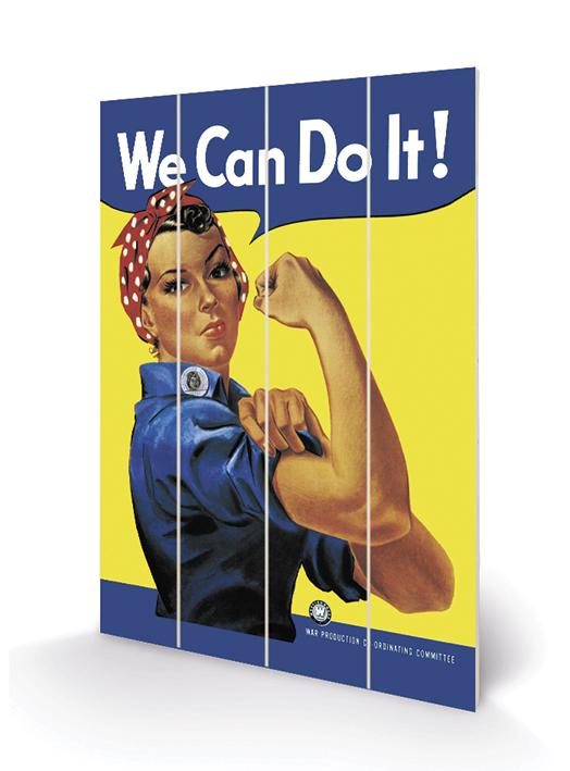 Rosie the Riveter Wood Prints