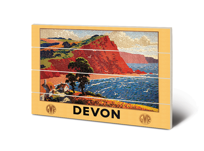 Devon (1) Wood Prints