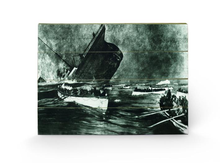 Titanic (13) Wood Prints