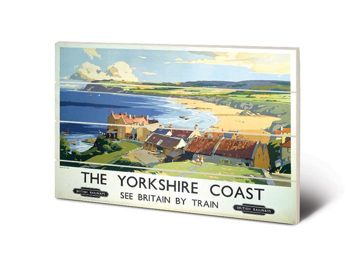 The Yorkshire Coast (2) Wood Print