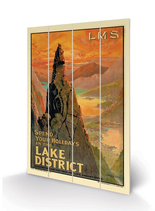 The Lake District (3) Wood Print