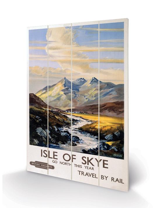 Isle of Skye (1) Wood Print