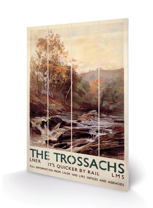 The Trossachs Wood Print