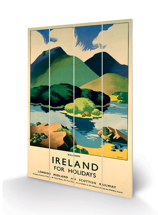 Killarney Wood Print