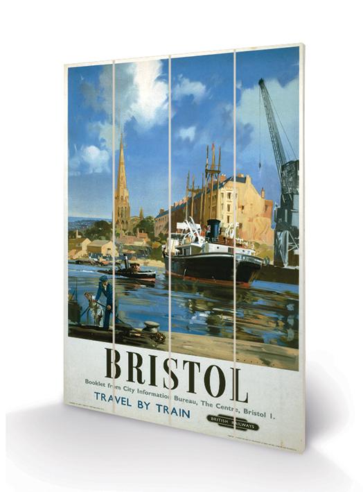 Bristol (5) Wood Print
