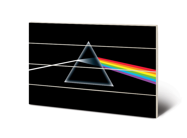 Pink Floyd (Dark Side of the Moon) Wood Prints