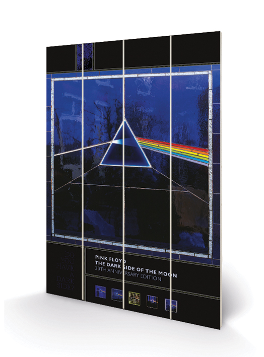 Pink Floyd (Dark Side of the Moon- 30th Anniversary) Wood Prints