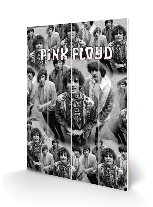 Pink Floyd (Piper) Wood Print