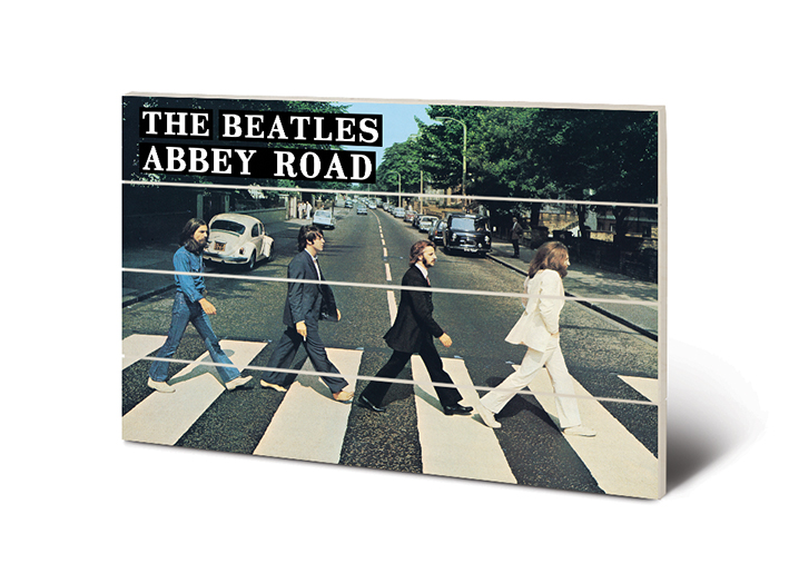 The Beatles Abbey Road Wood Print