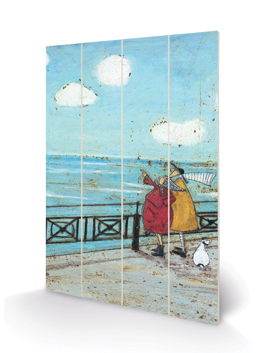 Sam Toft (Her Favourite Cloud) Wood Print
