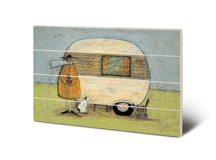 Sam Toft (Home From Home) Wood Print