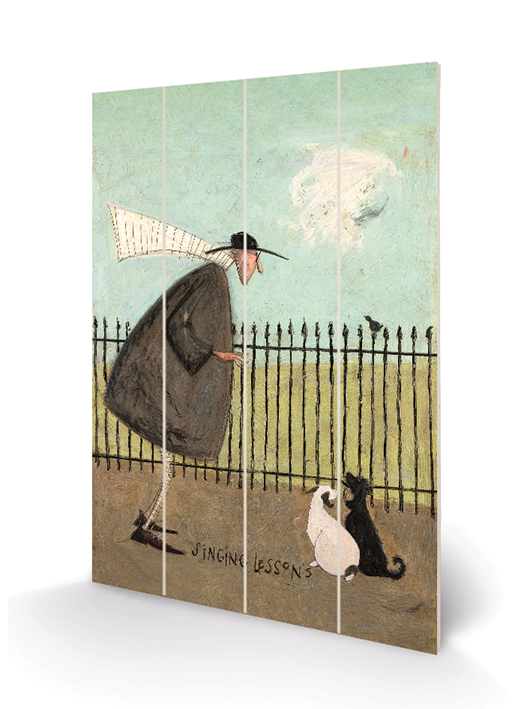 Sam Toft (Singing Lessons) Wood Print