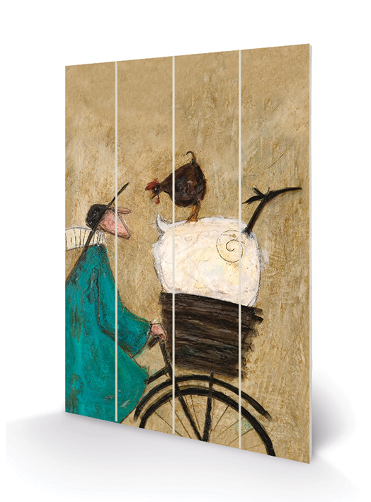 Sam Toft (Taking The Girls Home) Wooden Wall Art