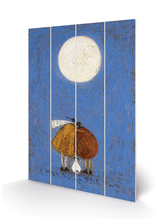 Sam Toft (A Moon to Call Their Own) Wooden Wall Art