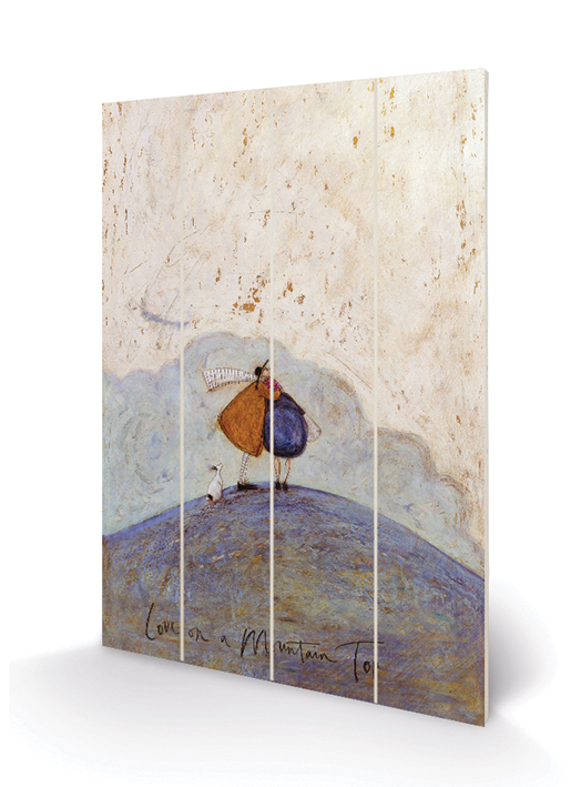 Sam Toft (Love on a Mountain Top) Wood Prints