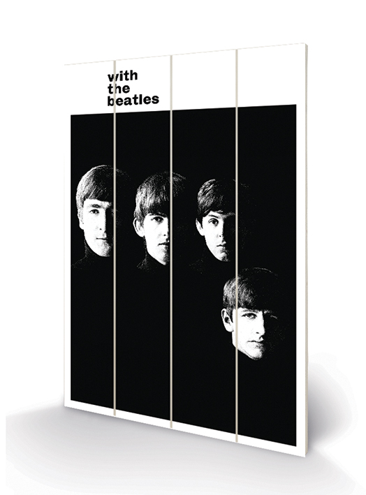 The Beatles (With The Beatles) Wood Prints