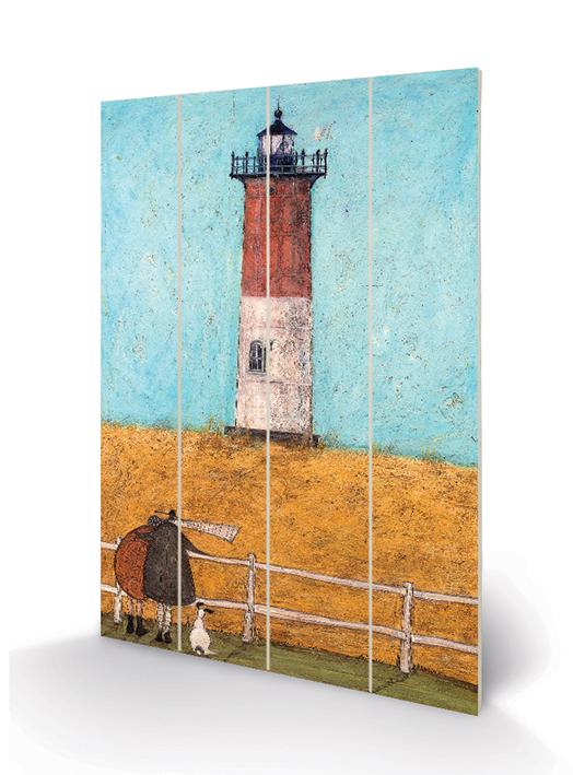 Sam Toft (Feeling the Love at Nauset Light) Wood Print
