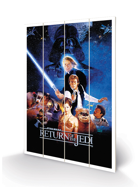 Star Wars Return Of The Jedi (One Sheet) Wood Prints