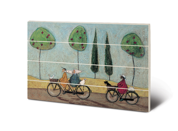 Sam Toft (A Nice Day For It) Wood Print