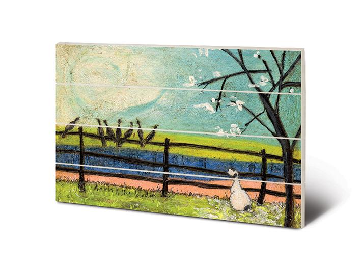 Sam Toft (Doris and the Birdies) Wood Print