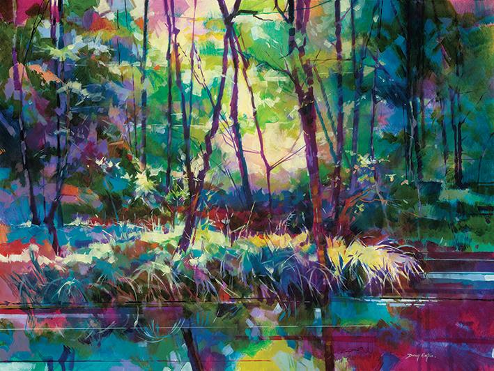 Doug Eaton (Brick Yard Pond) Canvas Prints