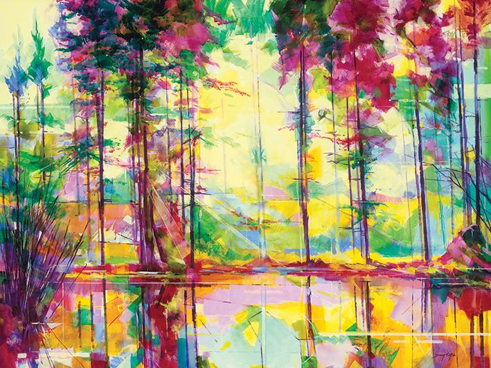 Doug Eaton (Meadowcliff Morning) Canvas Prints