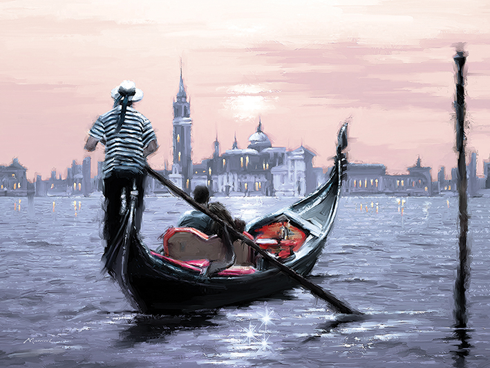 Richard Macneil (Venice) Canvas Prints
