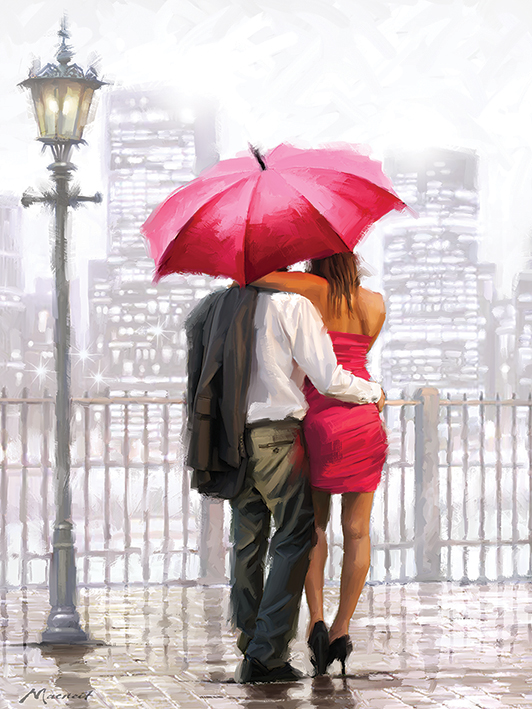 Richard Macneil (Bright Lights) Canvas Prints