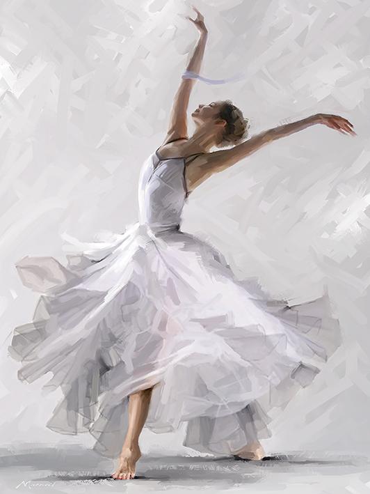 Richard Macneil (Dance of the Winter Solstice) Canvas Prints