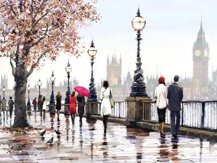 Richard Macneil (Thames View) Canvas Prints