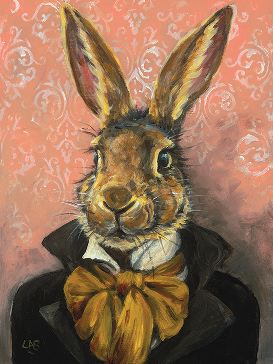 Louise Brown (Lord Bunnikins) Canvas Prints