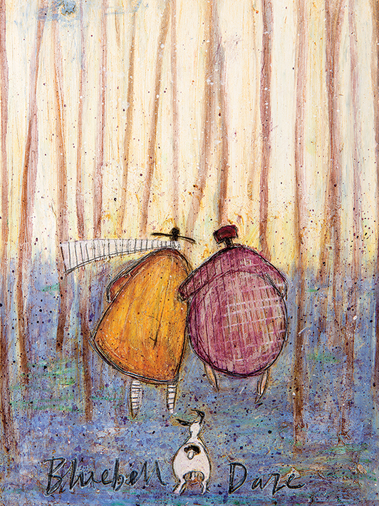 Sam Toft (Bluebell Daze) Canvas Prints