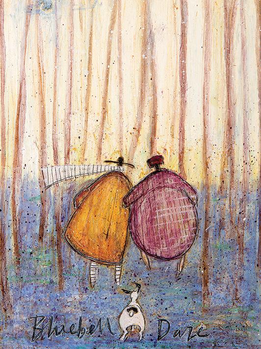 Sam Toft (Bluebell Daze) Canvas Prints