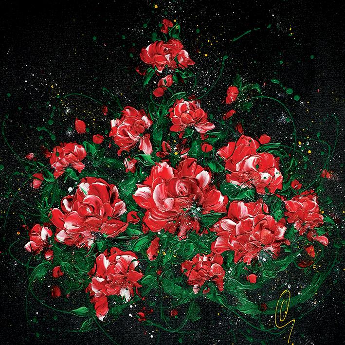 Clare Sykes (Love Rocks) Canvas Prints