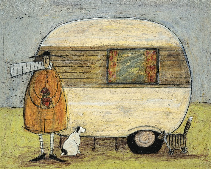 Sam Toft (Home From Home) Canvas Print
